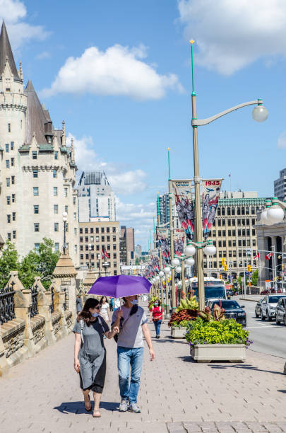 Wellington Street in Ottawa