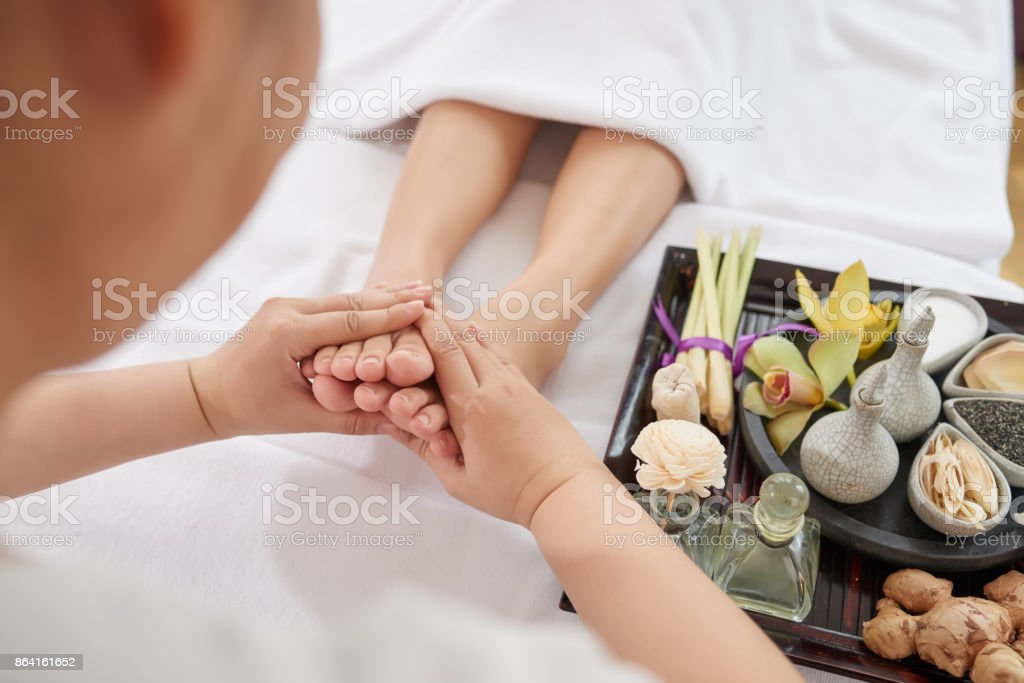 Wellness and spa royalty-free stock photo