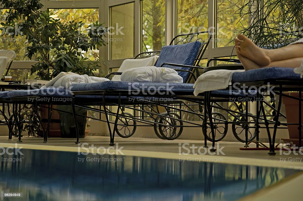Wellness bath royalty-free stock photo