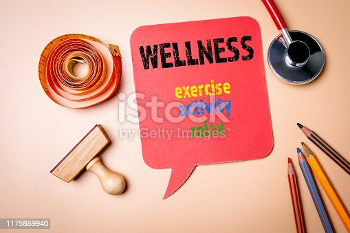 istock Wellness. Exercise, activity and relax concept 1175869940