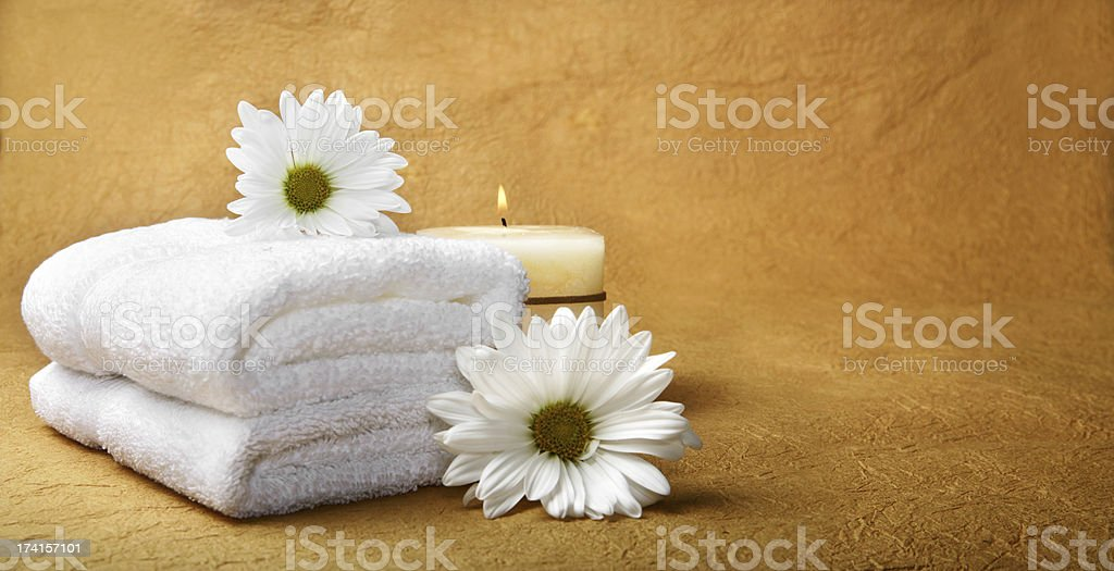 Wellness objects royalty-free stock photo
