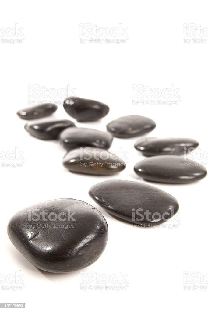 Wellness stones stock photo