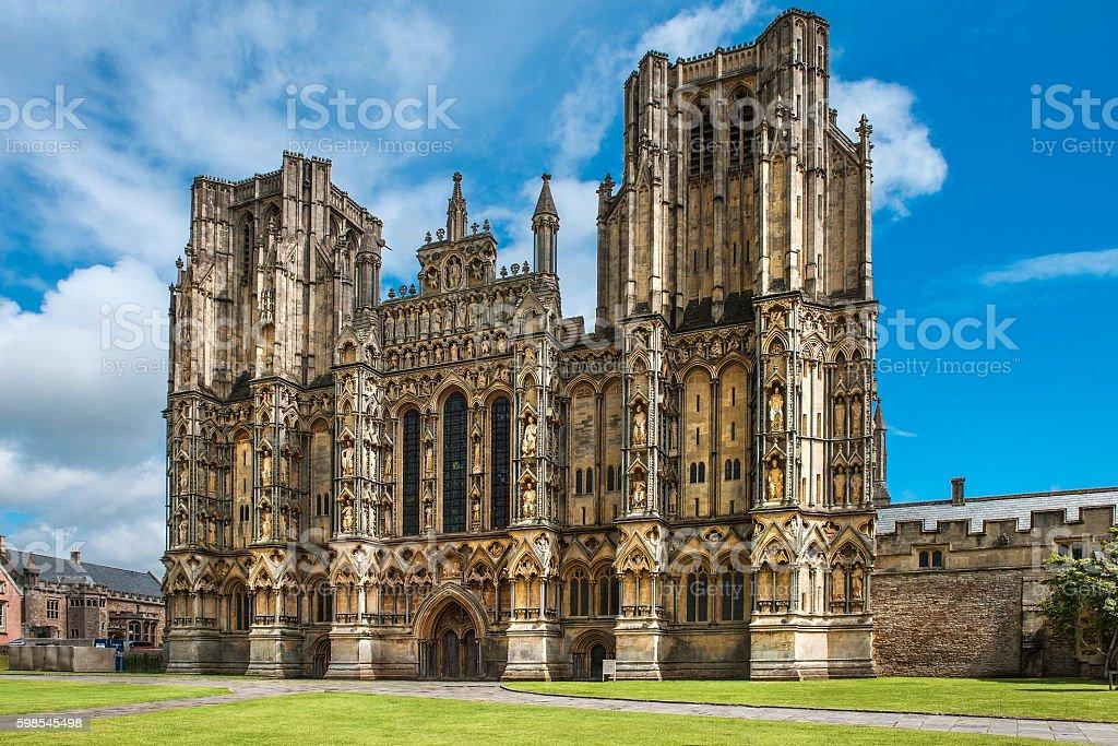 Cathédrale de Wells, Somerset, Angleterre photo libre de droits