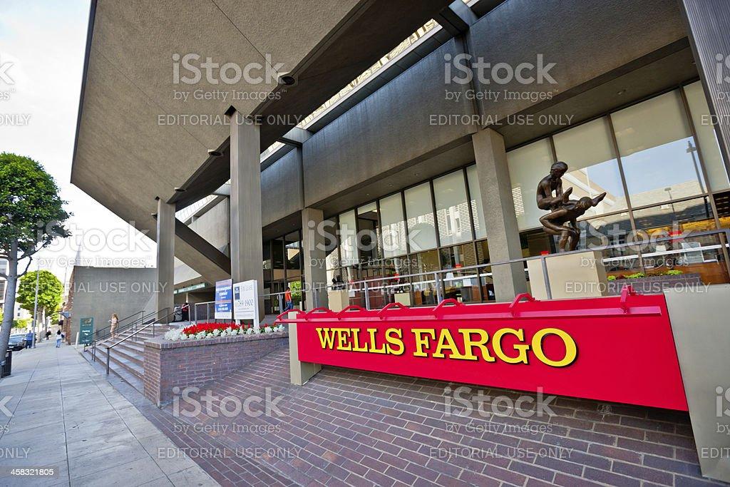 Wells  Fargo in Beverly Hills stock photo