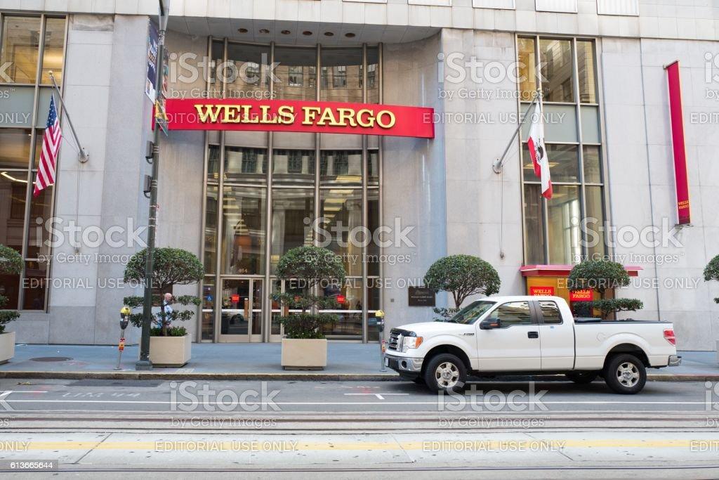 Wells Fargo stock photo