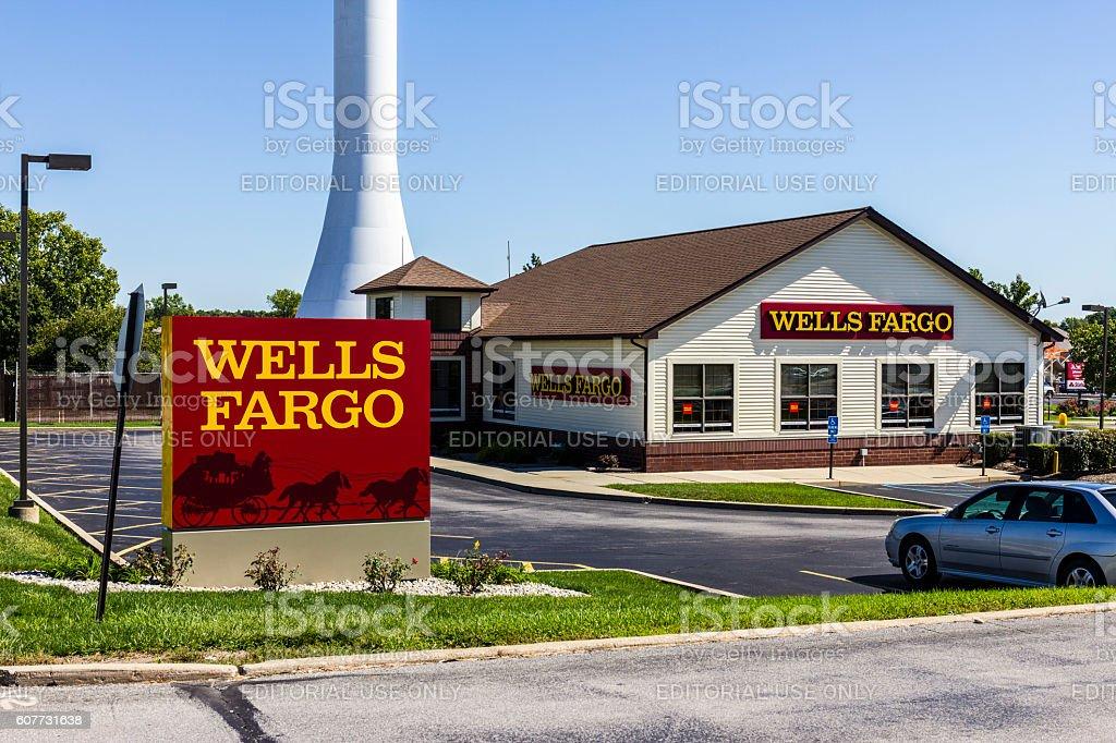 Wells Fargo Retail Bank Branch XI stock photo