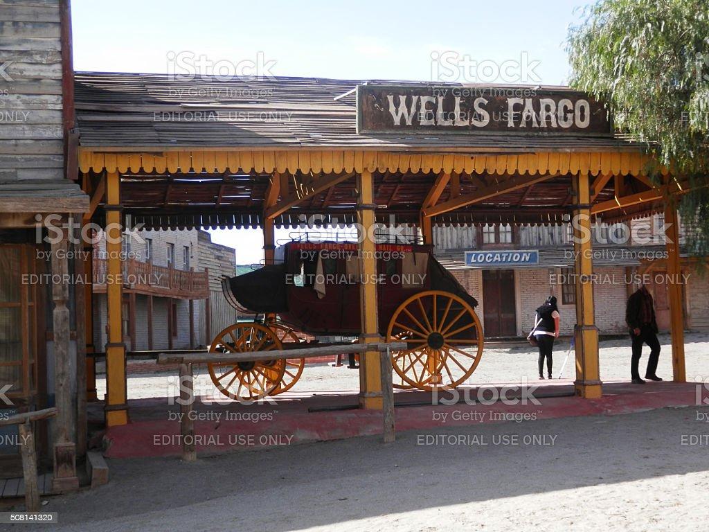 Wells Fargo Stagecoach stock photo