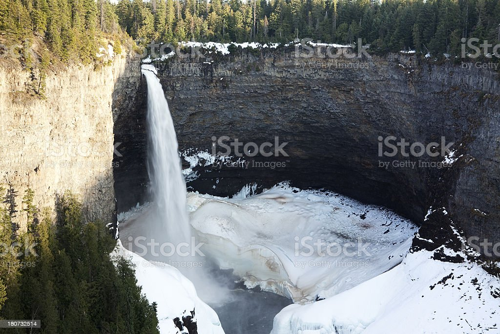 Wells Gray Provincial Park stock photo