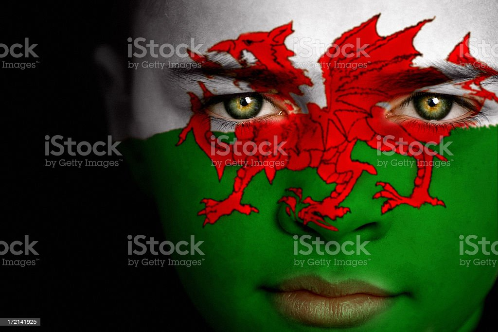 Welsh boy stock photo