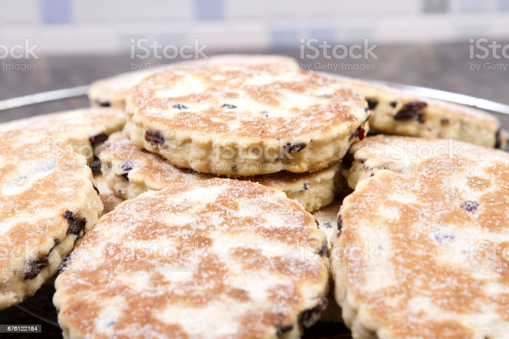 Welsh cakes royalty-free stock photo