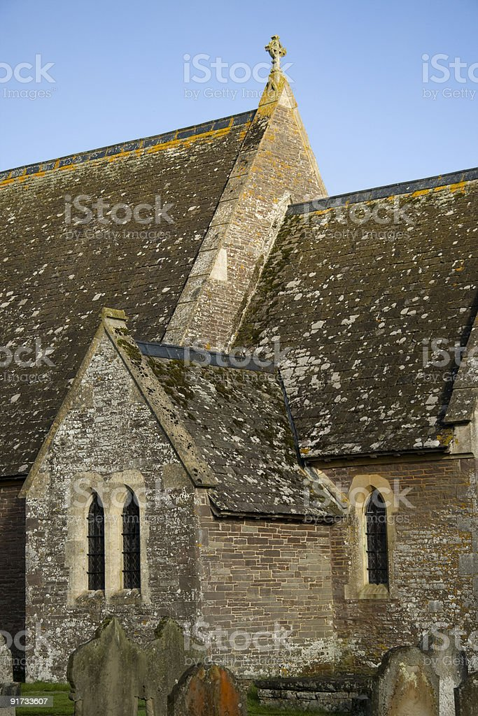 Welsh Church royalty-free stock photo