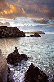 istock Welsh coastal sunset 1289039532