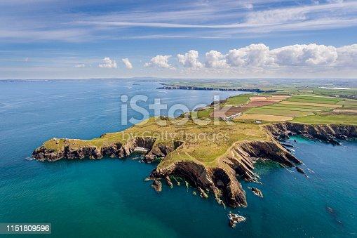 istock Welsh coastline 1151809596