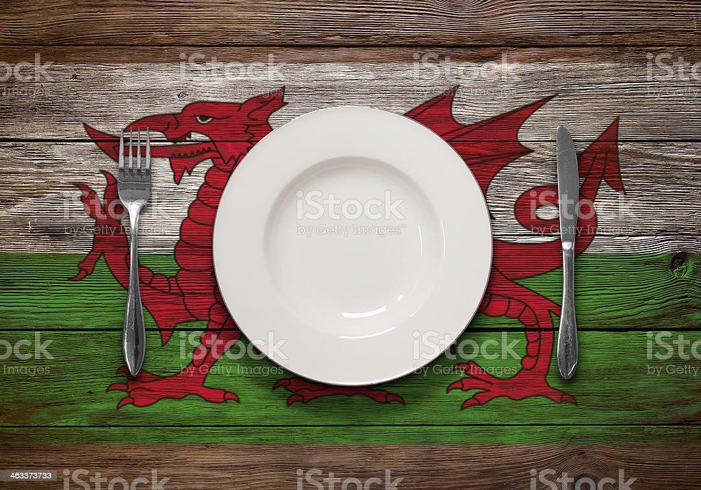 Welsh Cuisine stock photo