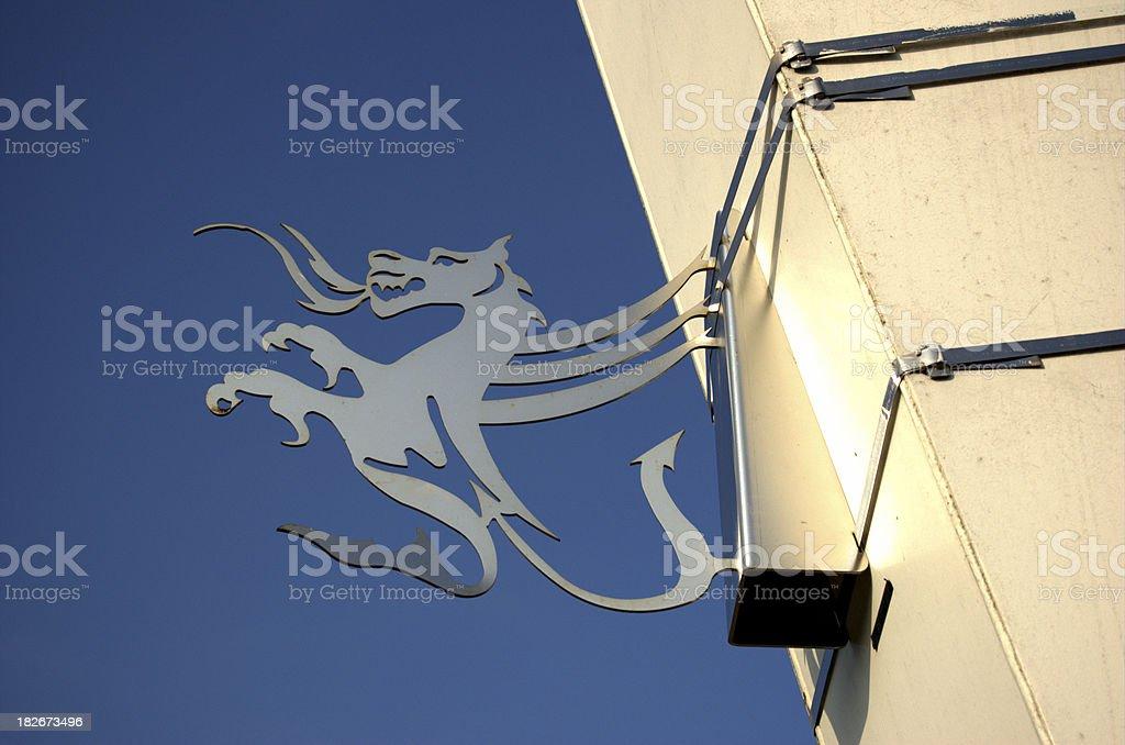 Welsh Dragon stock photo