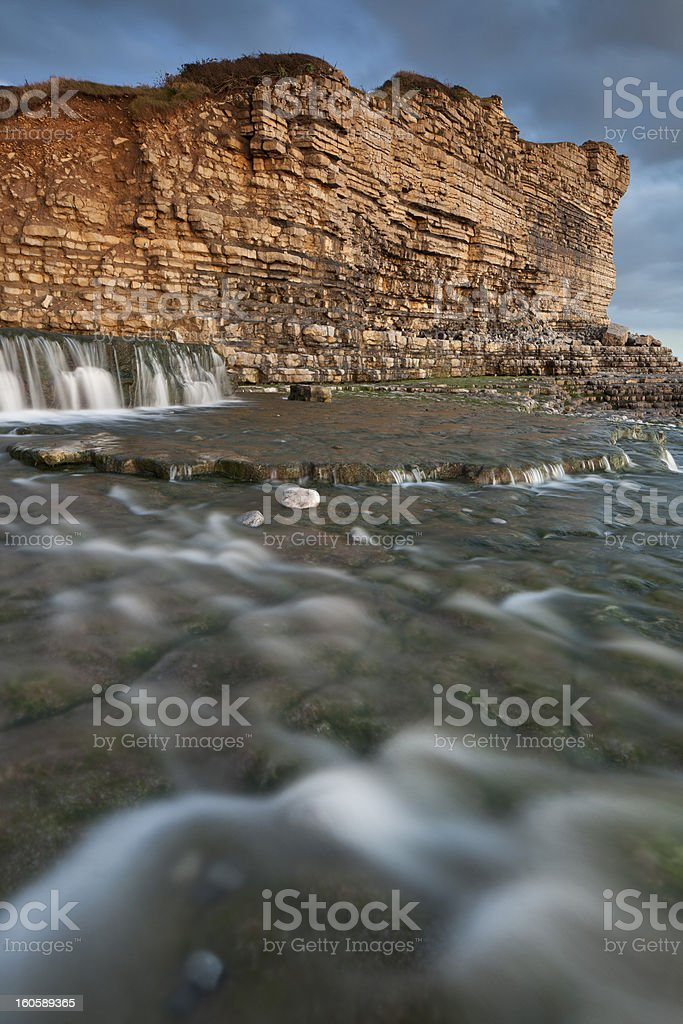 Welsh Heritage Coast royalty-free stock photo