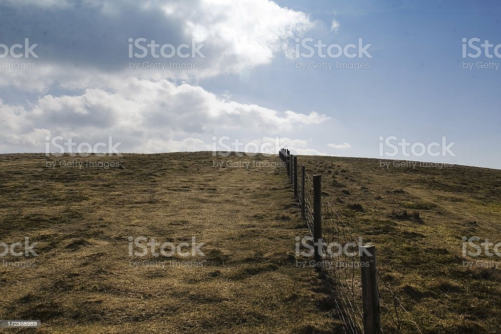 Welsh Mountain top royalty-free stock photo