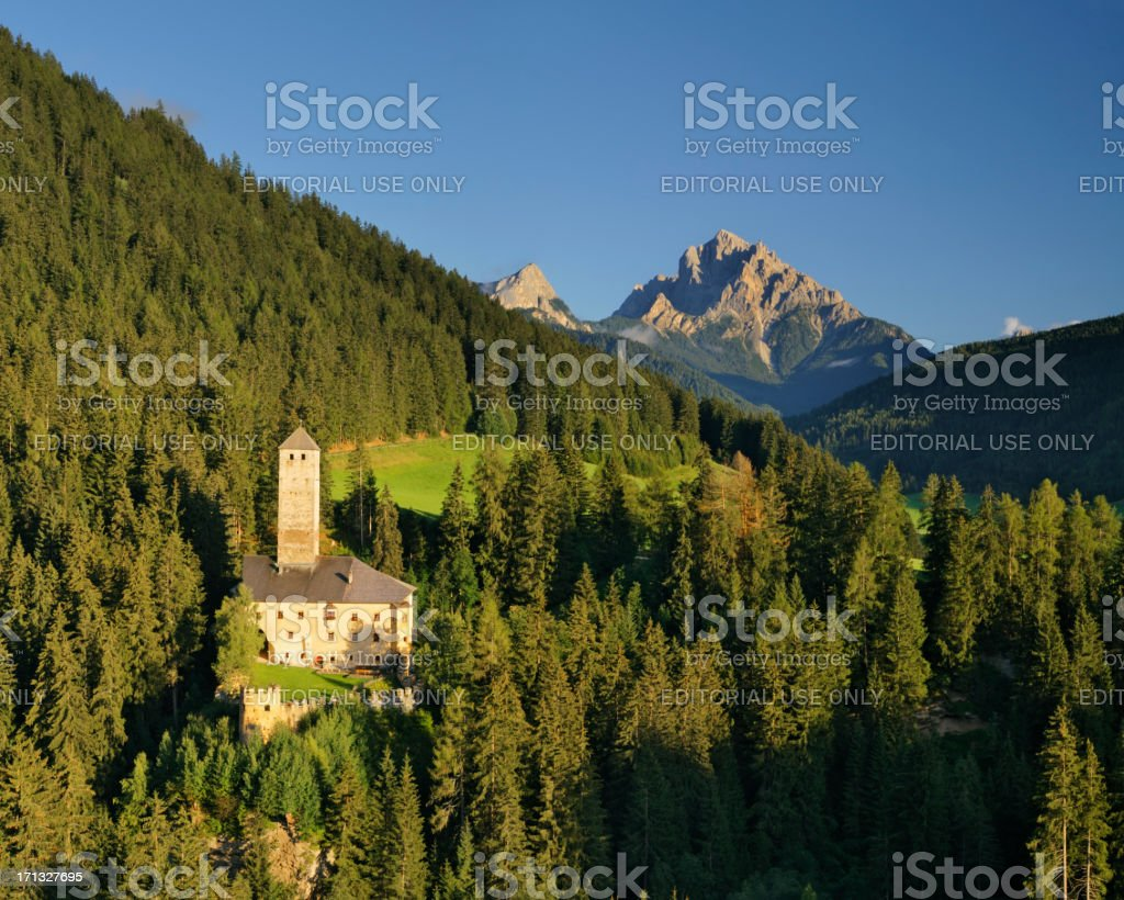 Welsperg Castle (Puster Valley - Italy) stock photo