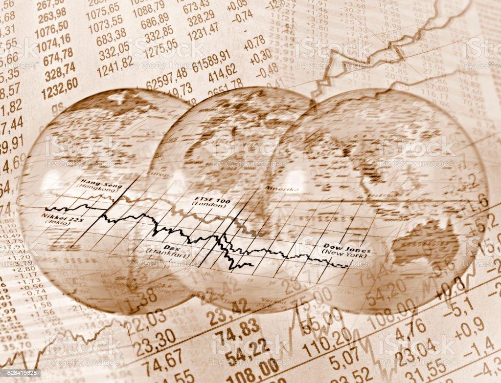Weltweiter Handel stock photo
