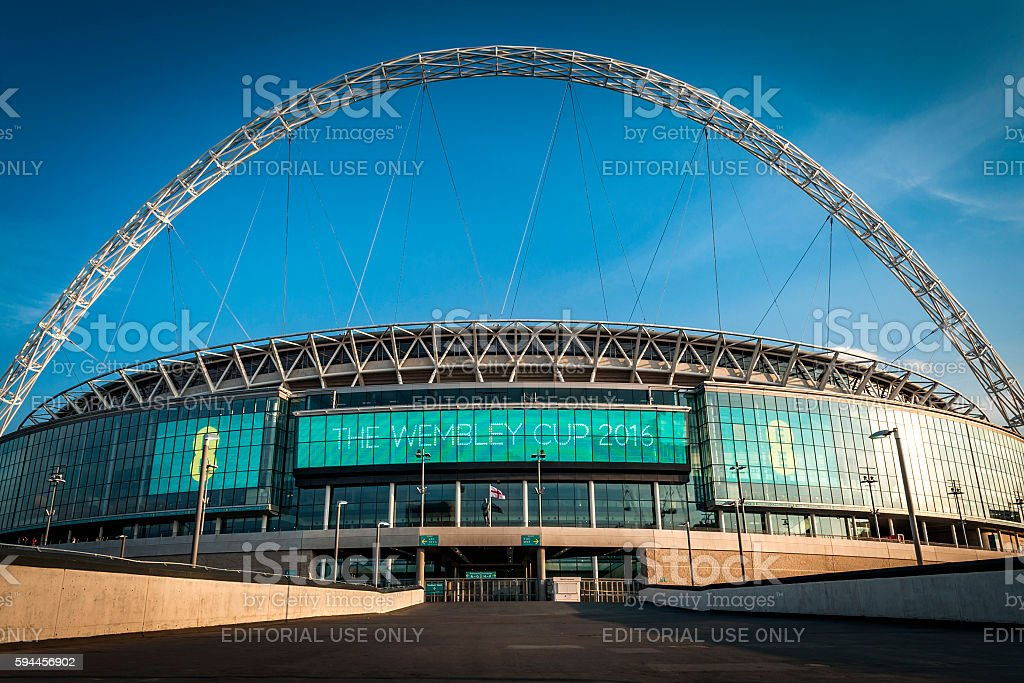 Wembley stadium is England's national stadium – Foto