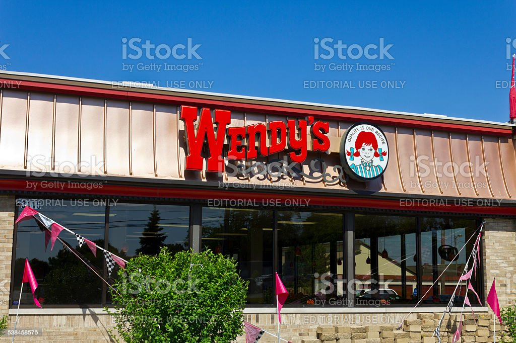 Wendy's Retail Location I stock photo