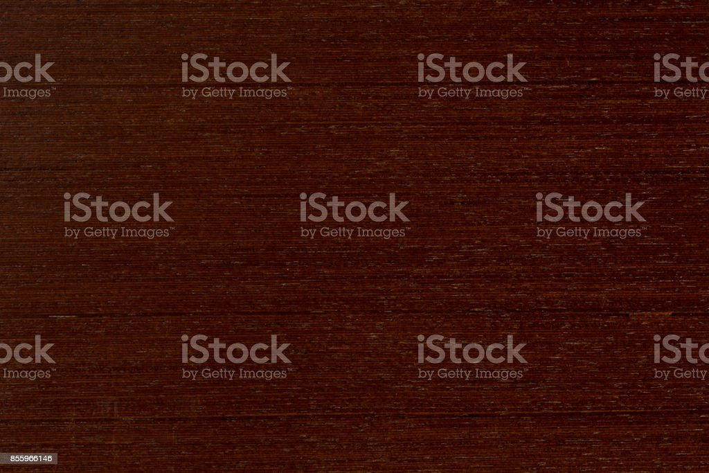 Wenge texture of wood background closeup stock photo
