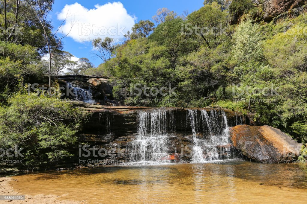 Wentworth Falls - Blue Mountains stock photo