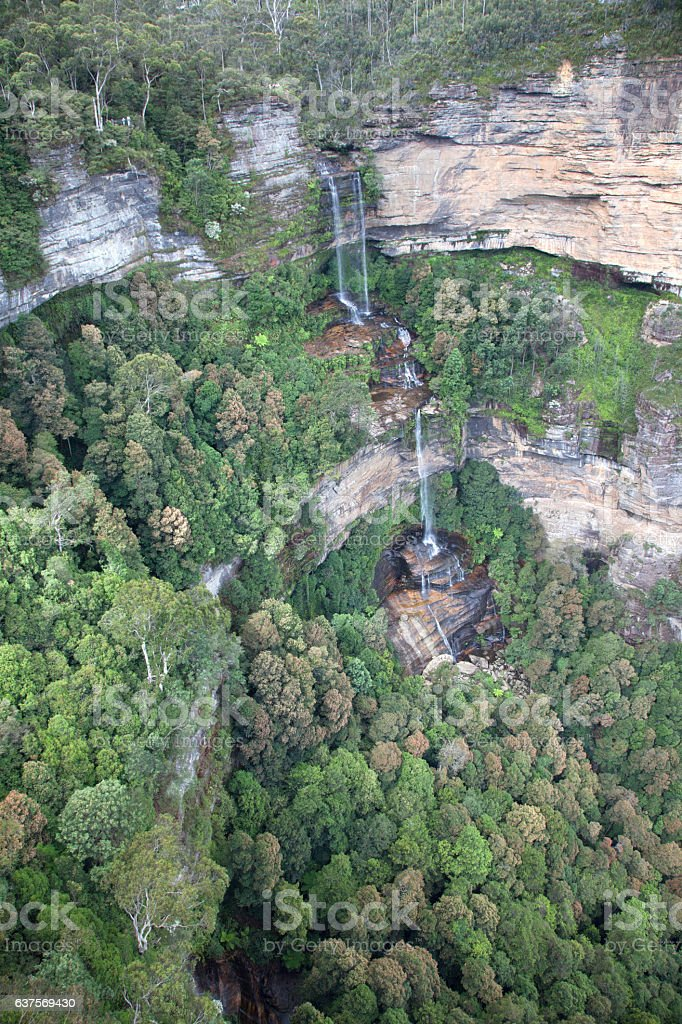 Wentworth Falls stock photo