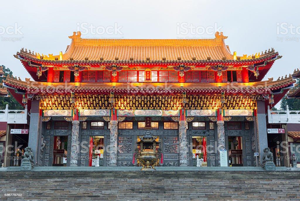 Wenwu Temple stock photo
