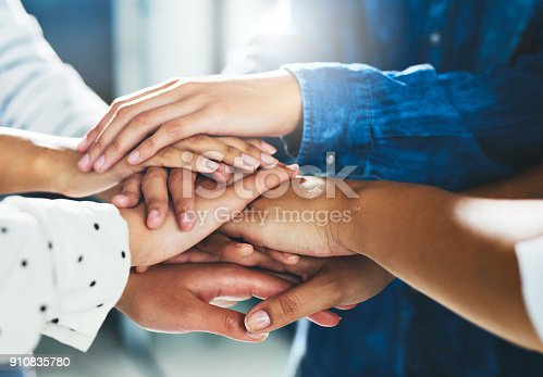 istock We're a lot more powerful when we stand together 910835780