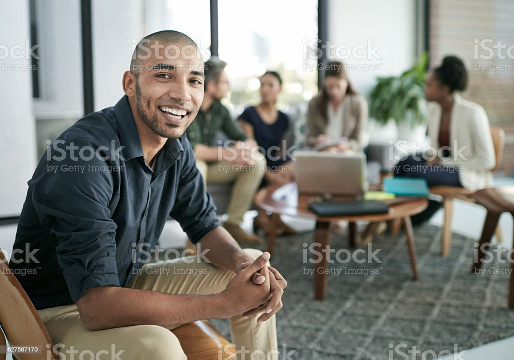 We're all in it together stock photo