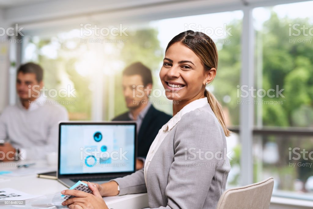 We're always ready and planning for success stock photo
