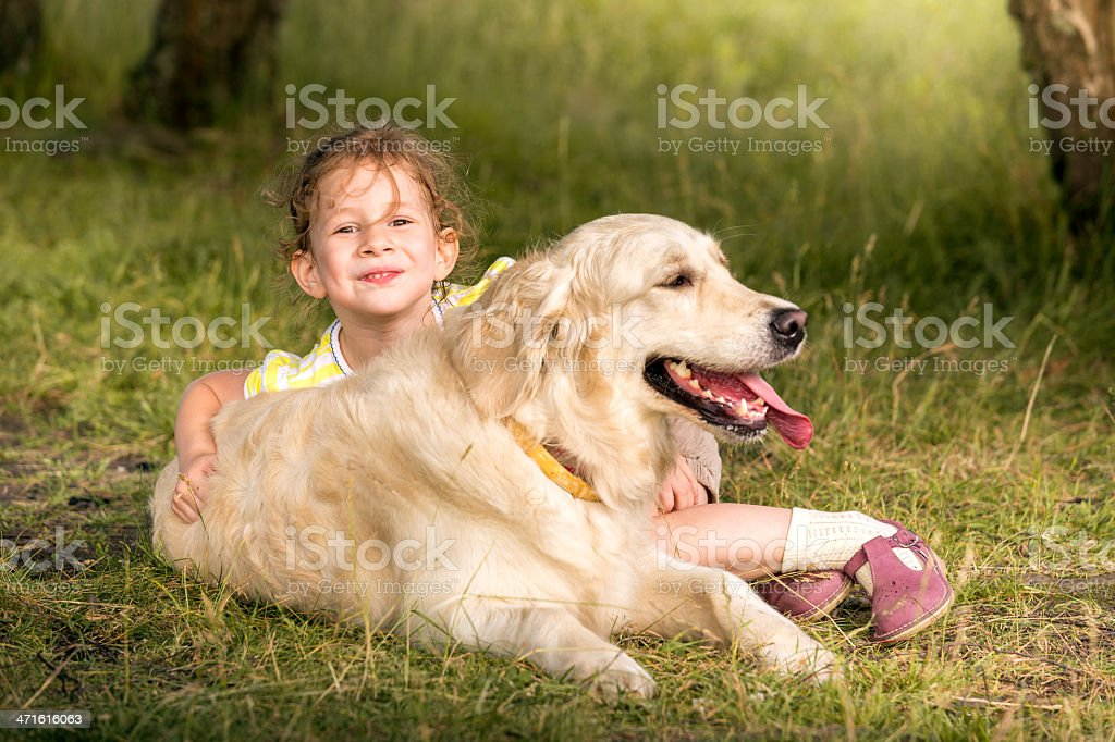 We're best friends royalty-free stock photo