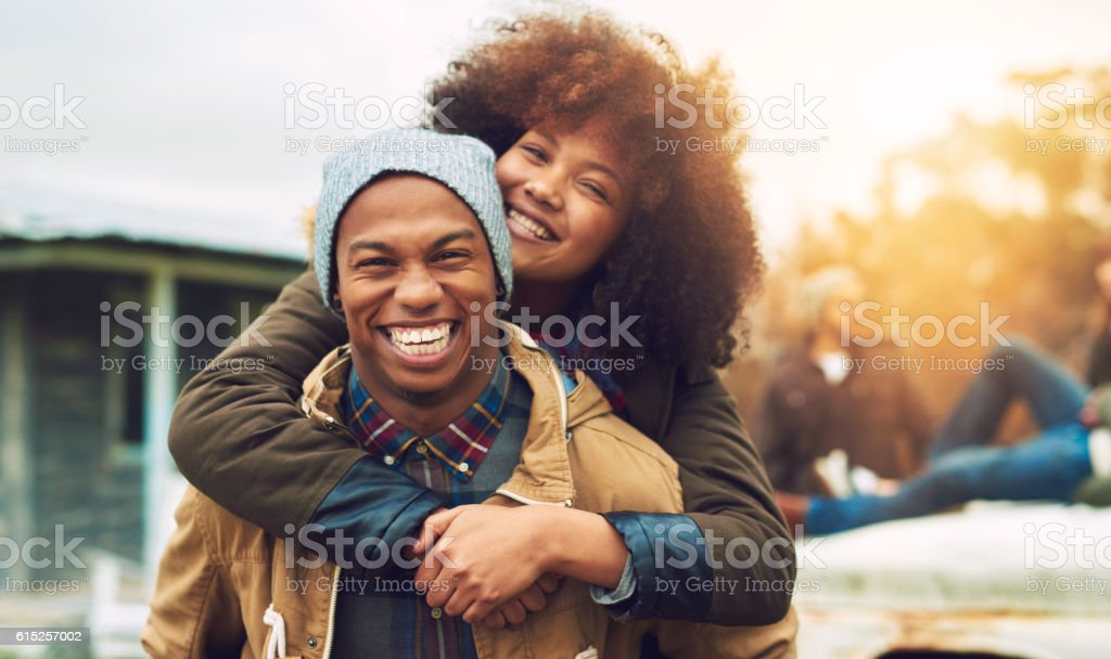 We're dedicated to having a good time stock photo