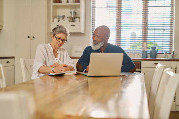We're financially prepared for our retirement stock photo