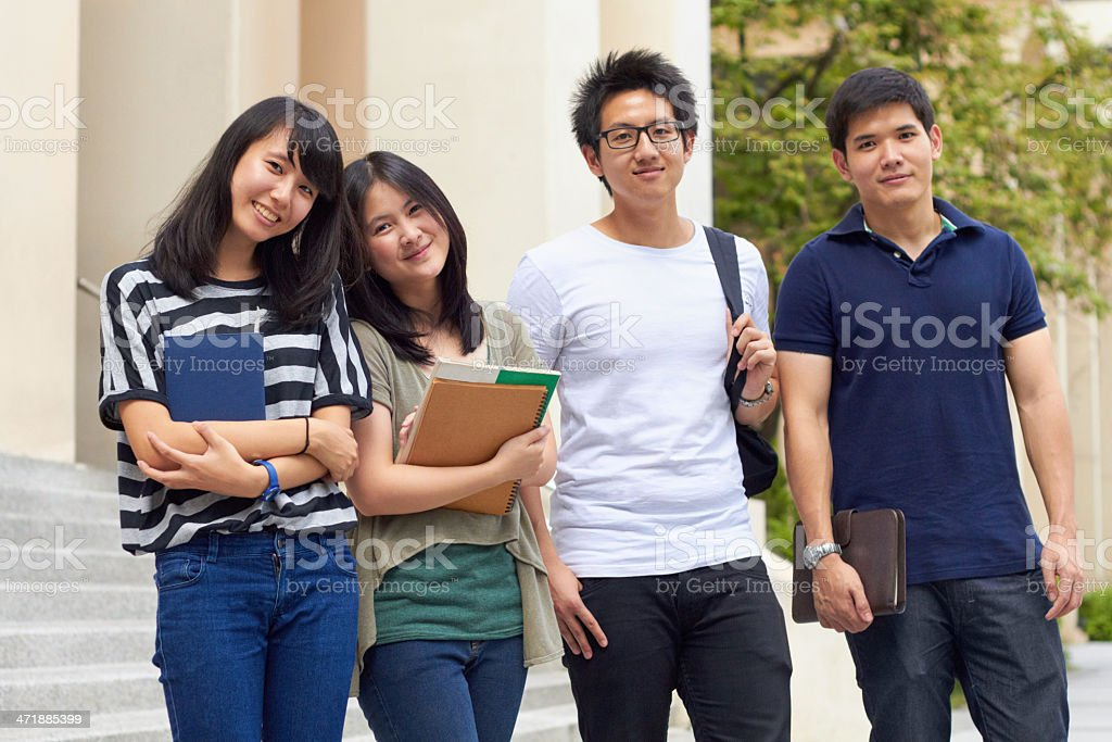 We're going on study leave stock photo