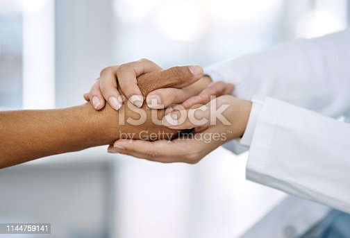 istock We're going to get through this, I promise 1144759141