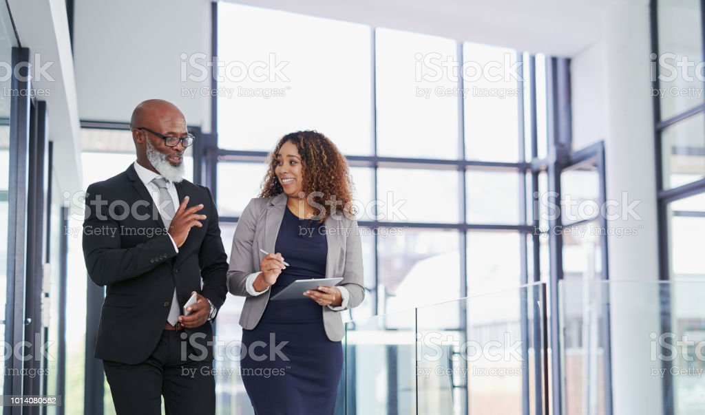 We're going to have such a successful day ahead stock photo