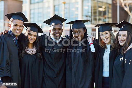 istock We're going to keep on succeeding throughout life 869673730