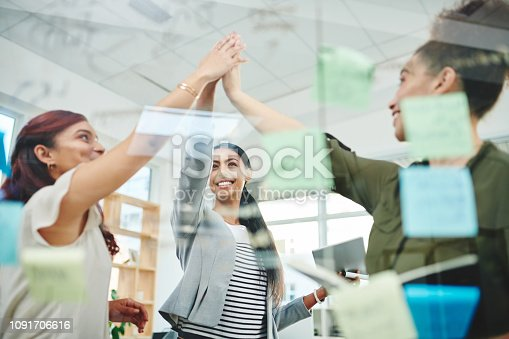 1031394114 istock photo We're going to succeed on our goals together 1091706616