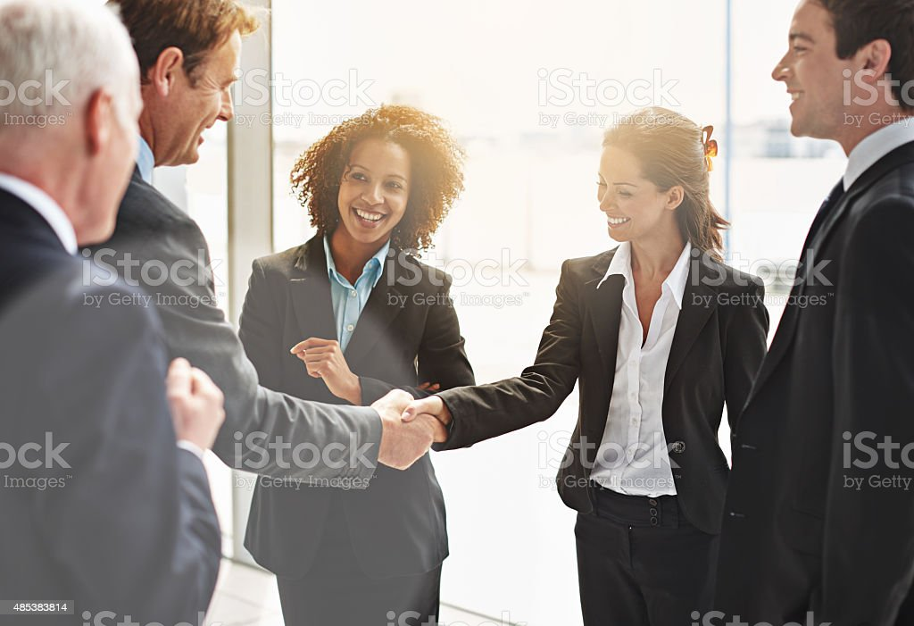 We're gonna do great things together stock photo