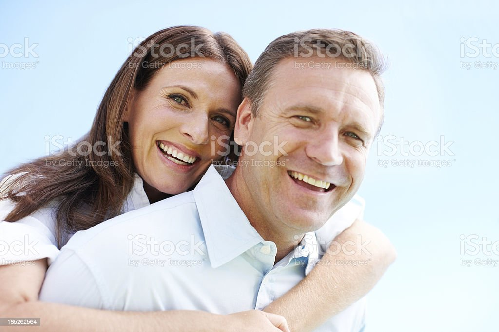 We're in this together stock photo