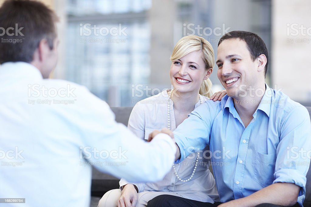 We're making decisions to secure a stable future royalty-free stock photo