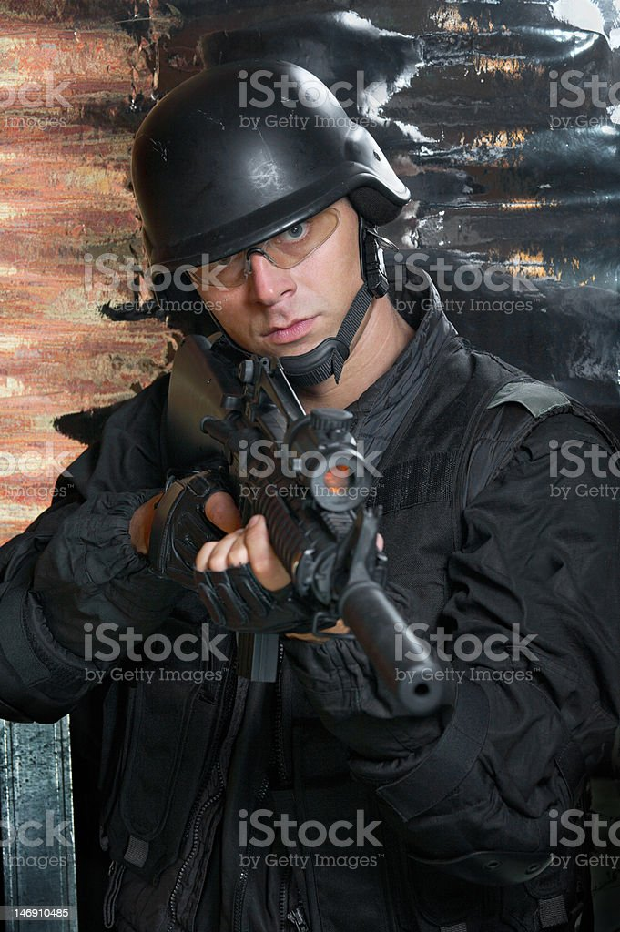 Were put forward on the task royalty-free stock photo