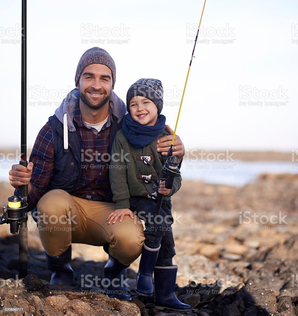 We're ready to catch a giant stock photo