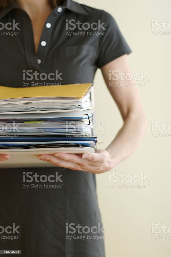 We're so busy! stock photo