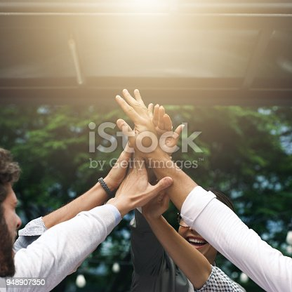 istock We're the ones who know how to make it happen 948907350