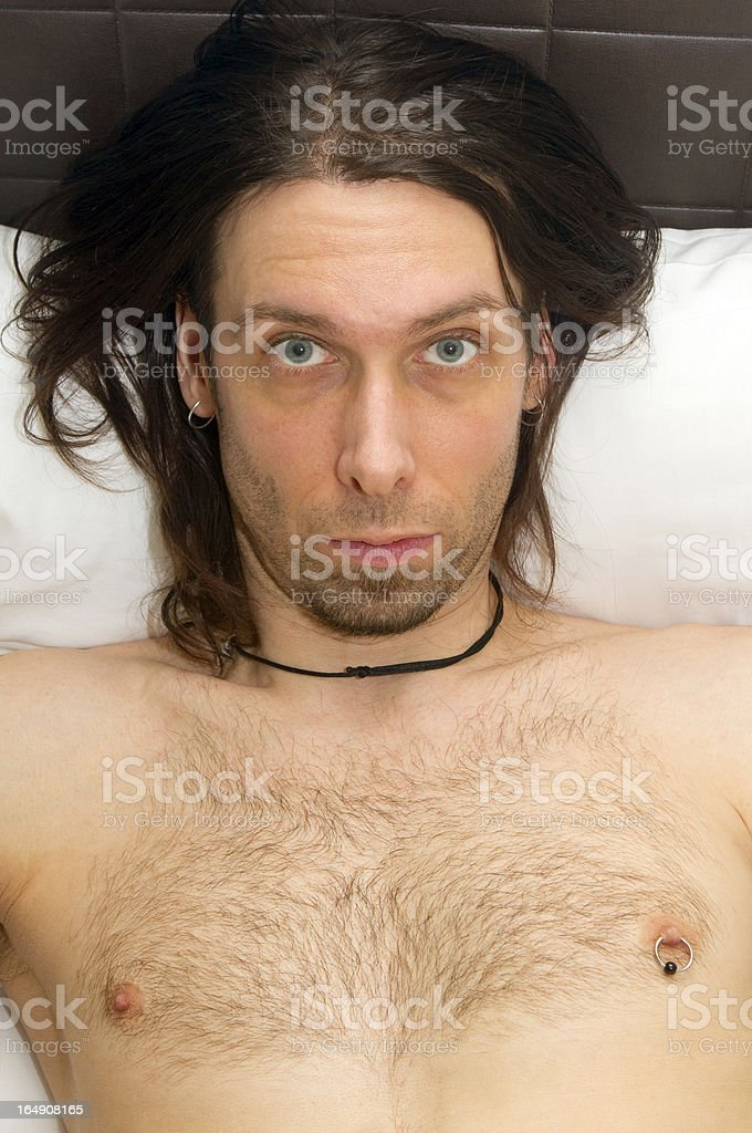Were You Talking To Me? stock photo