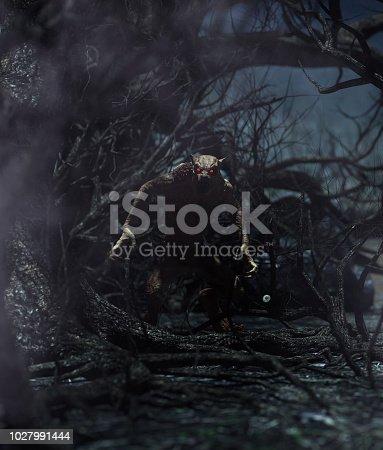 istock Werewolf 1027991444