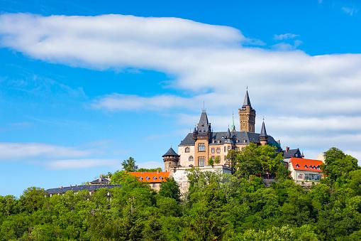 Wernigerode Castle, Harz, Germany